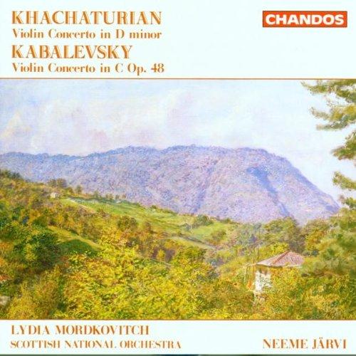 Khachaturian: Violin Concerto in D Minor / Kabalevsky: Violin Concerto in C Major,Op. 48