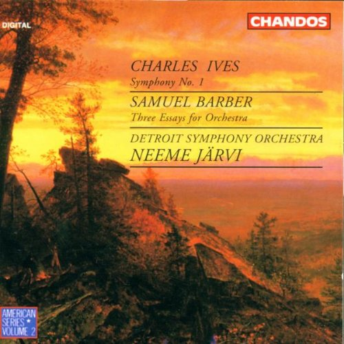 Ives: Symphony 1 / Barber: Three Essays for Orchestra
