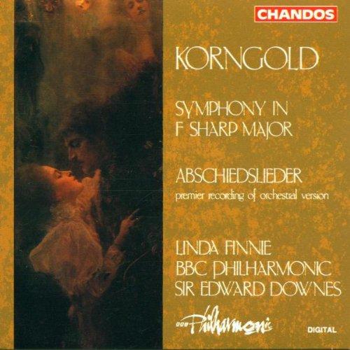 Korngold: Symphony in F / Abschiedslieder