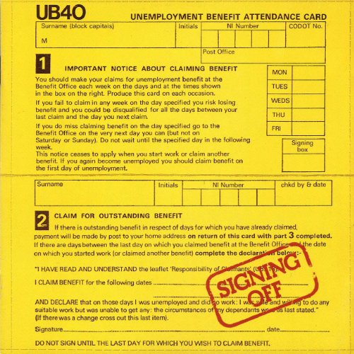 Signing Off By UB40