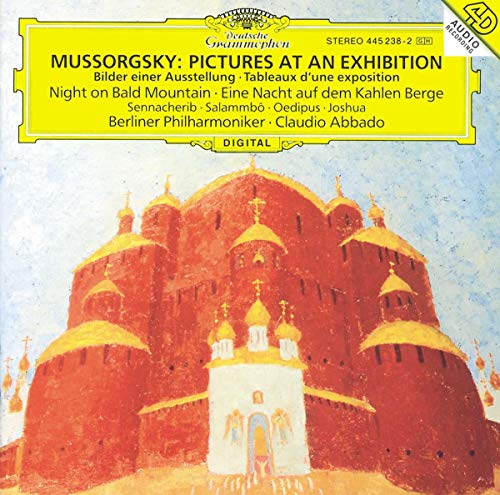 Mussorgsky: Pictures at an Exhibition, Night on Bald Mountain, Sennacherib, Salammbô, Oedipus, Joshu