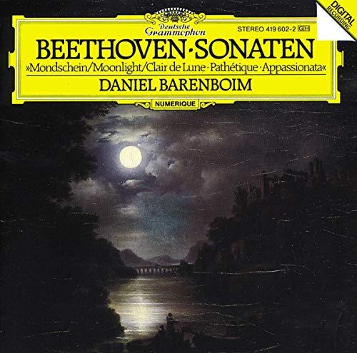Daniel Barenboim - Beethoven - Piano Sonatas 8, 13 & 14 By Daniel Barenboim