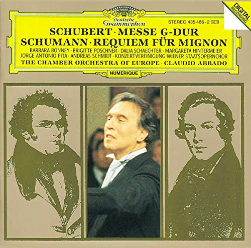 Schumann: Requiem fur Mignon / Schubert: Mass in G