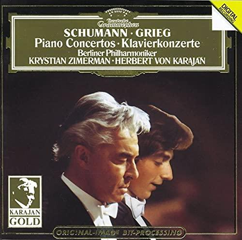 GRIEG & SCHUMANN - Greig and Schumann Piano Concertos By GRIEG & SCHUMANN