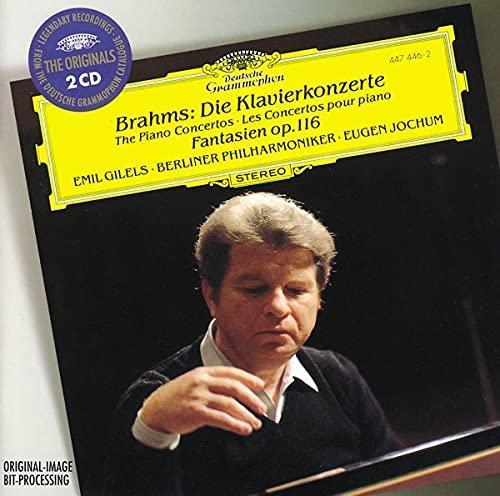 Brahms: The Piano Concertos / Fantasies, Op 116