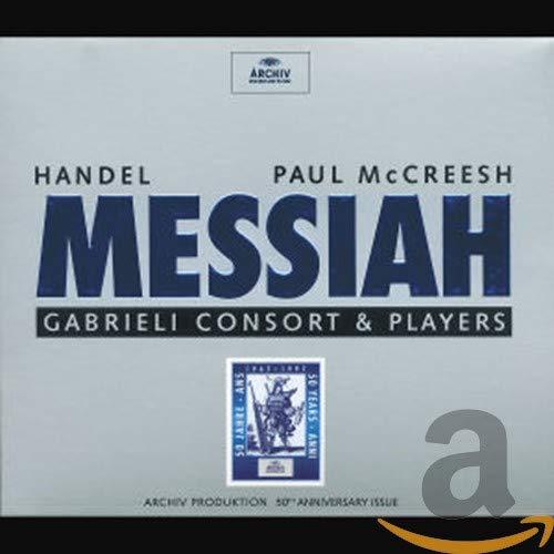Neal Davies - Handel: Messiah /Gritton · Röschmann · Fink · C Daniels · Davies · Gabrieli Consort &