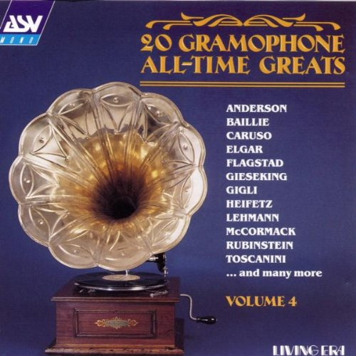 Various Artists - 20 Gramophone All-Time Greats - Volume 4
