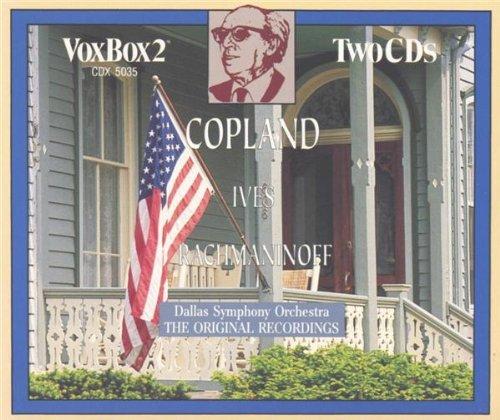 Copland/Ives/Rachmaninov - Various Works (Dallas So, Donald Johanos)