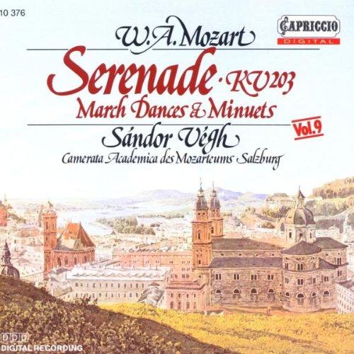 Mozart, W.a. - Serenade 4/Minuets (6)/Contradances