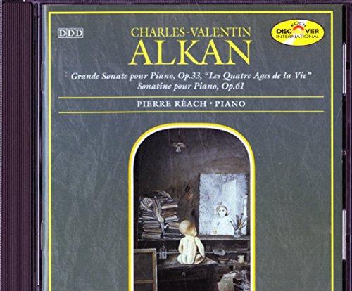 Alkan: Grande Sonate pour Piano / les quatre ages de la vie /  Sonatine pour Piano
