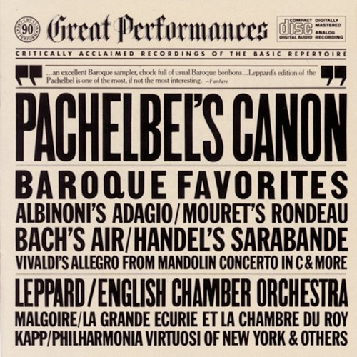 Pachelbel^Leppard^Eco - Canon & Other Baroque Favorites