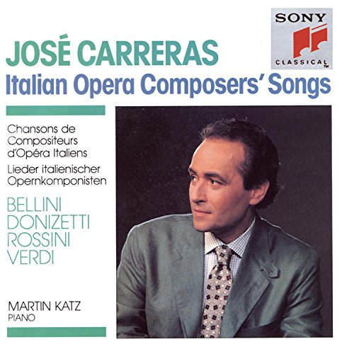 Carreras, Jose - Italian Opera Composer's Songs