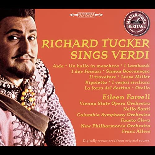 Richard Tucker Sings Verdi
