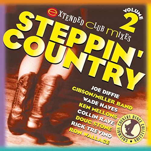 Various Artists - Steppin' Country: VOLUME 2;EXTENDED CLUB MIXES