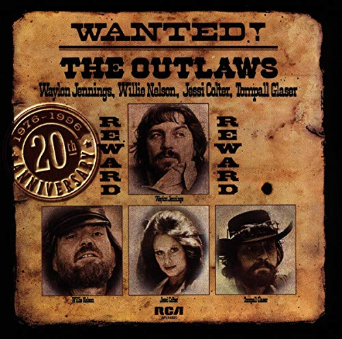 Jennings/Nelson/Colter/Glaser - Wanted: The Outlaws