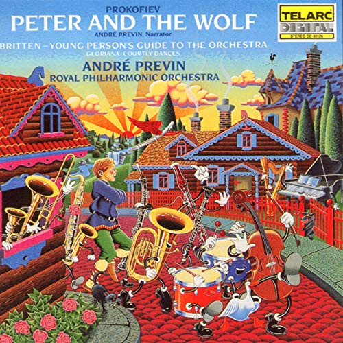 Pete And The Wolf/Young Person's Guide To The Orchestra/Gloriana
