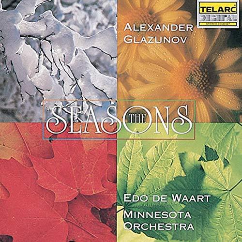 Edo de Waart - Alexander Glazunov: The Seasons