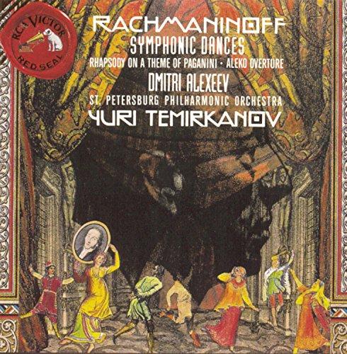 Rachmaninov: Symphonic Dances, Paganini Rhapsody, Aleko Overture