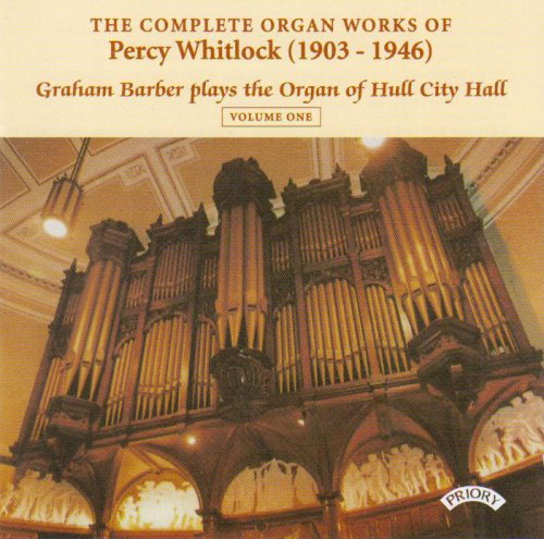Graham Barber - Whitlock - Organ Works, Vol.1 By Graham Barber