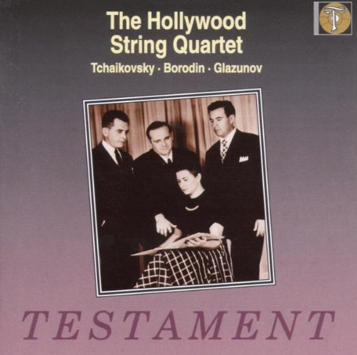 The Hollywood String Quartet - The Hollywood String Quartet By The Hollywood String Quartet