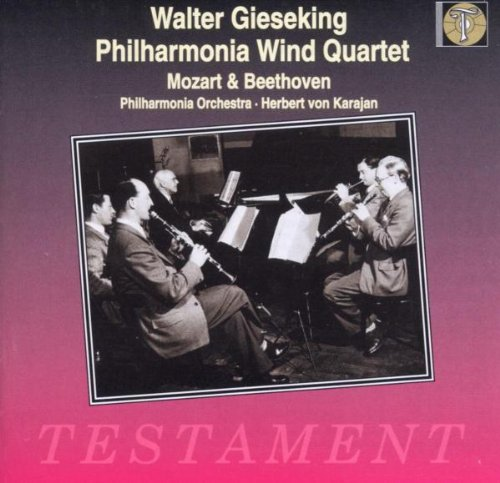 Gieseking and the Philharmonia Wind Quintet