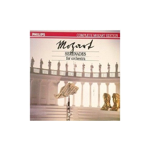 Mozart Complete Edition, Vol. 3 - Serenades for Orchestra