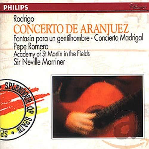 Neville Marriner - Rodrigo: Concierto de Aranjuez; Fantasía para un gentilhombre; Concierto Madrigal