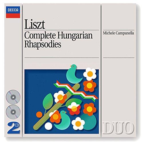 Michele Campanella - Liszt: Complete Hungarian Rhapsodies