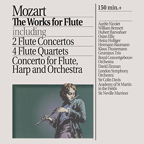 Grumiaux Trio - Mozart: The Works for Flute By Grumiaux Trio