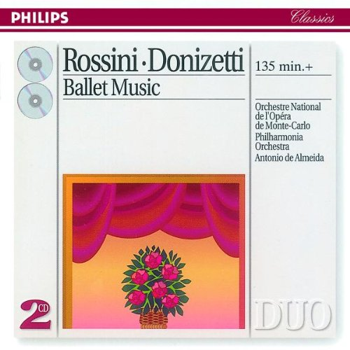 Monte-Carlo Orchestra - Rossini: Ballet Music By Monte-Carlo Orchestra