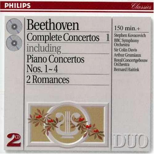 Bernard Haitink - Beethoven: Complete Concertos Vol.1 - Piano Concertos Nos.1 - 4 etc.
