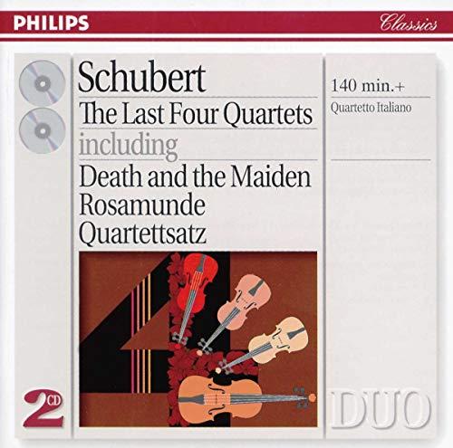 Quartetto Italiano - Schubert: The Last Four Quartets including Death and the Maiden, Rosamunde, Qua