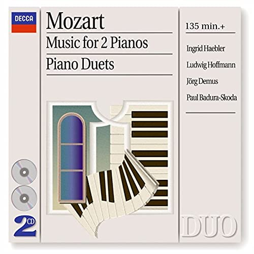 Mozart: Music for 2 Pianos/Piano Duets