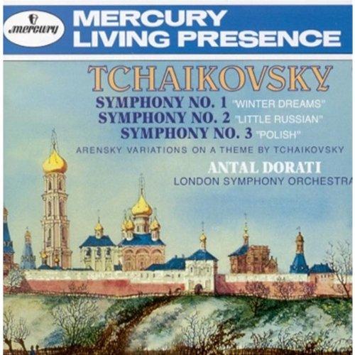 Peter Tchaikovsky - Symphonies 1, 2 & 3/Arensky Variations (Lso/Dorati)