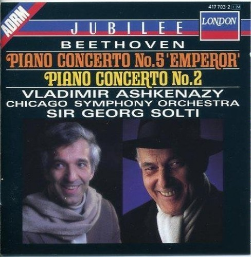 Ashkenazy - Beethoven: Piano Concertos Nos. 5 & 2
