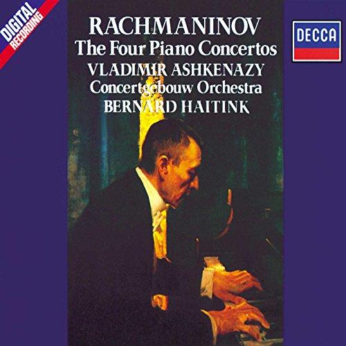 Vladimir Ashkenazy - Rachmaninov: The Four Piano Concertos By Vladimir Ashkenazy