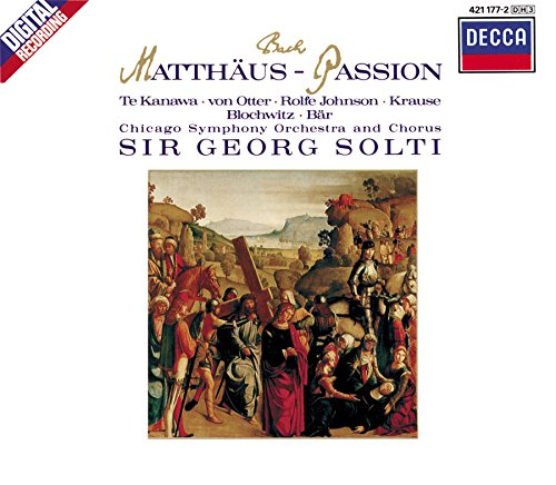 Bach: Arias from St Matthew Passion