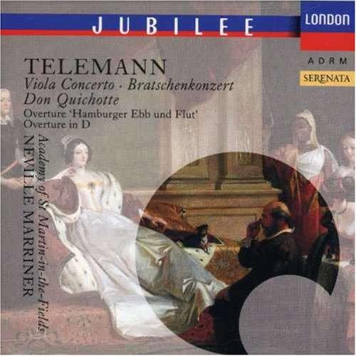 Telemann: Viola Concerto; Don Quichotte; Hamburger Ebb und Flut /ASMF · Marriner