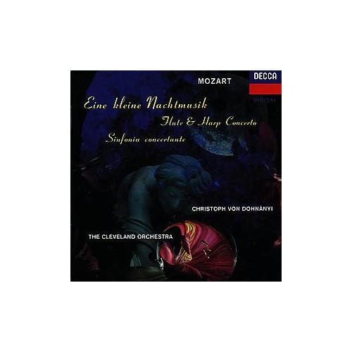 Cleveland Orchestra - Mozart -- Eine Kleine Nachtmusik,Concerto for flute, harp and Orchestra,, Sere