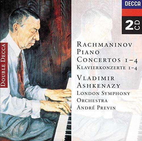 Rachmaninov: Piano Concertos 1-4 By Sergei Rachmaninov