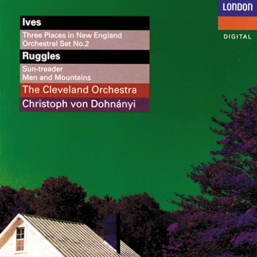 Ives/Ruggles - Orchestral Music (Dohnanyi)