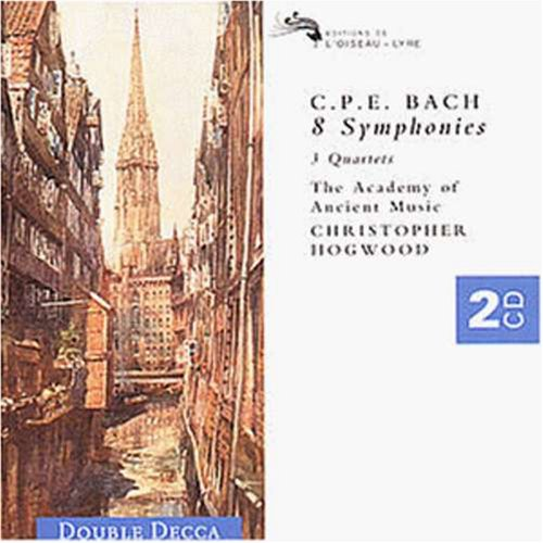 C.P.E. Bach: 8 Symphonies, 3 Quartets