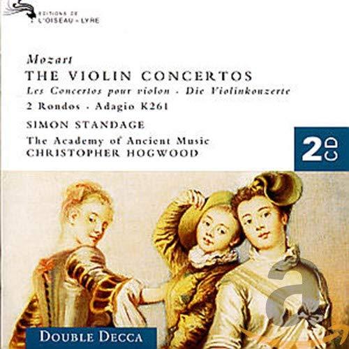 Simon Standage - Mozart: The Violin Concertos