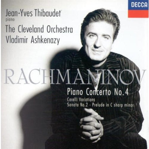 Jean-Yves Thibaudet - Piano Concerto 4, Sonata 2