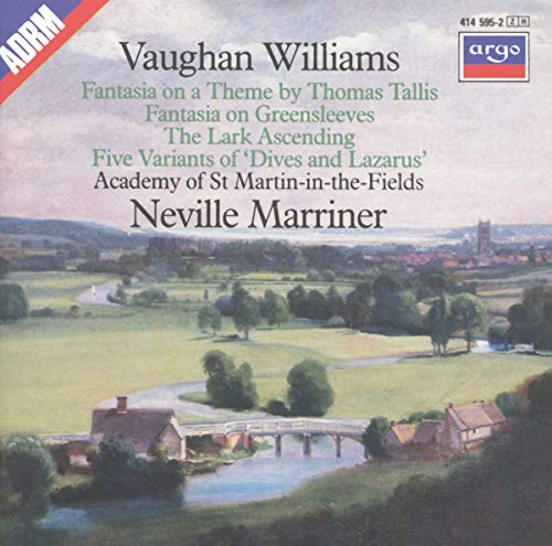 Neville Marriner - Vaughan Williams: Tallis Fantasia/Fantasia on Greensleeves/The Lark Ascending/Var By Neville Marriner