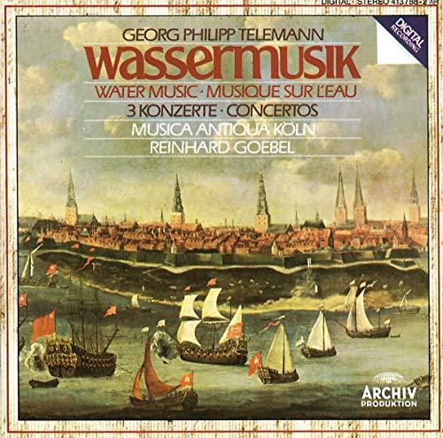 Musica Antiqua Köln - Telemann: Wassermusik (Water music, 3 concertos)