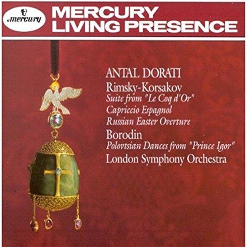 Rimsky Korsakov: Capriccio Espagnol / Suite from Le Coq d'Or / Russian Easter Overture / Borodin: Po