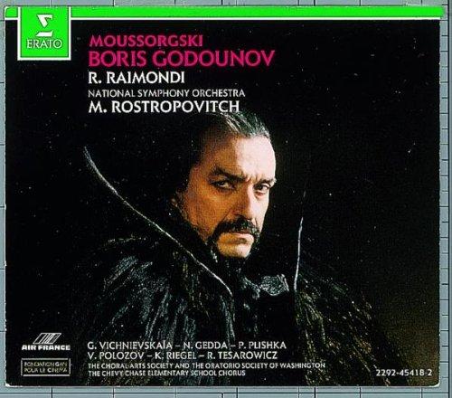 Mussorgski - Boris Godounov / Raimondi, NSO, Rostropovitch