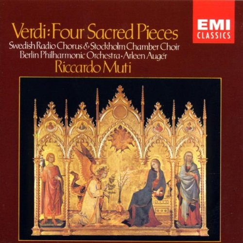 Giuseppe Verdi - Quattro Pezzi Sacri/Auger/Muti