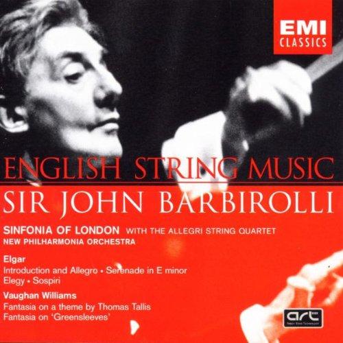 Sinfonia of London - John Barbirolli conducts English String Music